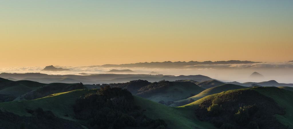 Sunrise, The Three Sisters, Highway 46